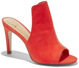 New York & Co. Faux-Suede Peep-Toe Sandal