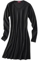 Merona Women's Long Sleeve Fit & Flare Sweater Dress - Assorted Colors