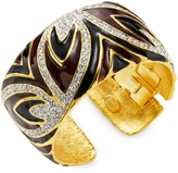 Kenneth Jay Lane Women's Rhinestone Cuff Bracelet
