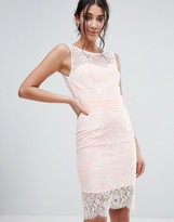Paper Dolls Lace Overlay Dress