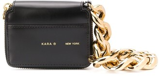 Kara Logo Printed Mini Shoulder Bag