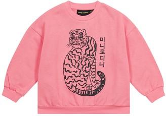 Mini Rodini Tiger cotton jersey sweatshirt