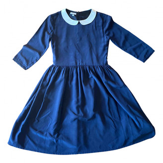 LES COYOTES DE PARIS Blue Silk Dresses