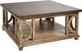Lexington Home Brands Wyatt 40 Square Coffee Table, Gray