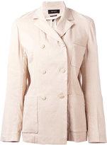 Isabel Marant double-breasted jacket - women - Linen/Flax/Viscose/Silk/Spandex/Elastane - 36