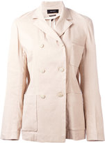 Isabel Marant double-breasted jacket - women - Silk/Linen/Flax/Spandex/Elastane/Viscose - 36