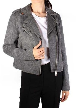 MICHAEL Michael Kors Double Faced Moto Jacket
