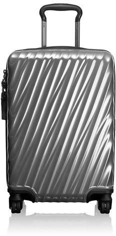 Tumi Silver International Carry-On Luggage