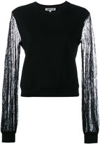 McQ by Alexander McQueen lace detail blouse