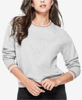 GUESS Embossed Logo Sweatshirt