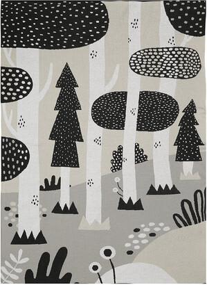 Södahl Sodahl - Magic Forest Blanket - Black