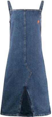 Walter Van Beirendonck Pre-Owned 1990s Denim Dress