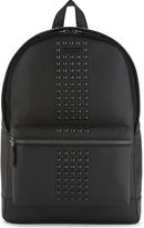 Michael Kors Bryant Studded Grained Leather Backpack