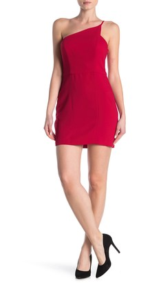 BCBGeneration One-Shoulder Bodycon Mini Dress