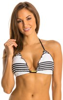Vix Stripes Ripple Tri Bikini Top (DCup) - 8132795