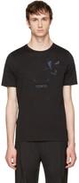 Fendi Black Butterfleyes & Frogs T-Shirt