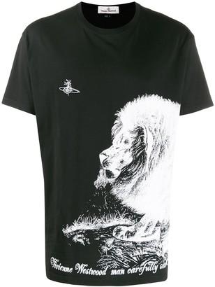 Vivienne Westwood contrast print T-shirt
