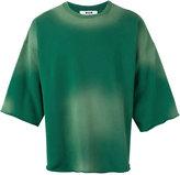 MSGM slouched gradient T-shirt - men - Cotton - S