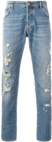 Philipp Plein distressed slim jeans