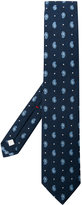 Isaia paisley embroidered tie