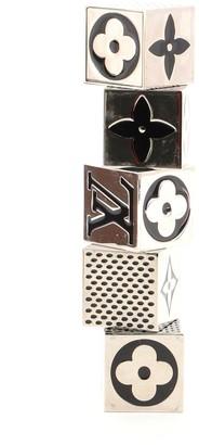 Louis Vuitton Monogram Cube Dice Game Set Metal