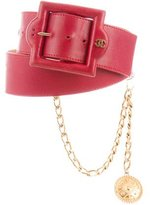 Chanel Medallion Belt