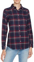 DL1961 Mercer & Spring Plaid Button-Down Shirt - The Blue Shirt Shop