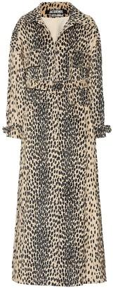 Jacquemus Le Manteau Thika cotton-blend coat