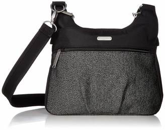 Baggallini Women's Anti Theft Cross Over Crossbody Hobo