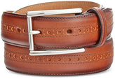Cole Haan Men's Leather Wing-Tip Belt