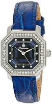 Burgmeister Allinges Women's Quartz Watch with Blue Dial Analogue Display and Blue Leather Strap BM168-133