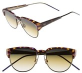 Christian Dior Spectra 53mm Cat Eye Sunglasses