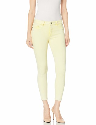 DL1961 Women's Florence Cropped Mid Rise Instasculpt Skinny