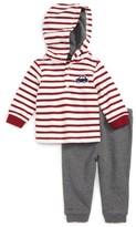 Little Me Infant Boy's Car Hoodie & Pants Set