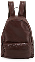 Brunello Cucinelli Buffalo Leather Backpack, Copper