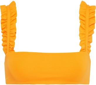 Onia Como Ruffled Bikini Top