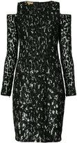 Michael Kors cut-out sequin dress
