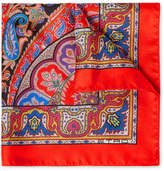Etro Paisley-Print Silk-Twill Pocket Square