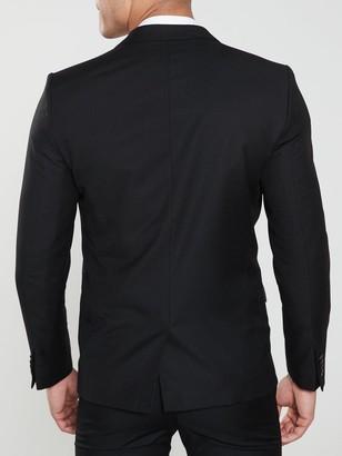 River Island Edward Skinny Black Jacket