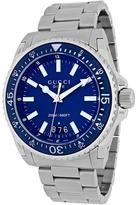 Gucci Dive XL Collection YA136203 Men's Stainless Steel Watch