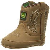 John Deere Bab All Over Tan PO Pull-On Boot