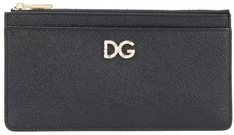 Dolce & Gabbana Leather Multi-Pocket Logo Wallet