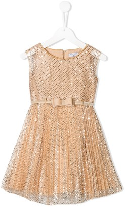 MonnaLisa sequin embellished dress