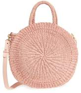 Clare Vivier Alice Woven Sisal Straw Bag