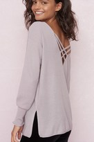 Garage Slouchy Cross-Back Tunic