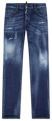 DSQUARED2 Sexy Mercury Distressed Slim Jeans