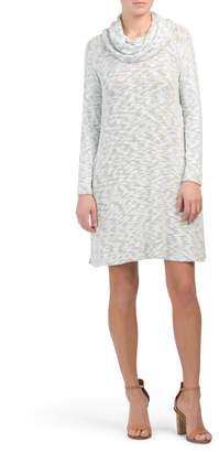 Cowl Neck Long Dress