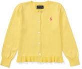 Polo Ralph Lauren Ruffle Cardigan (2-7 Years)
