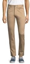Brooks Brothers Selvedge Twill Cotton-Blend Slim Pants