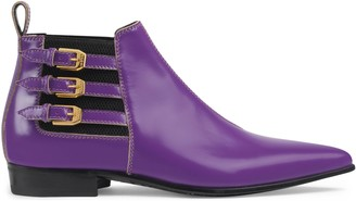 Gucci Women's leather ankle boot